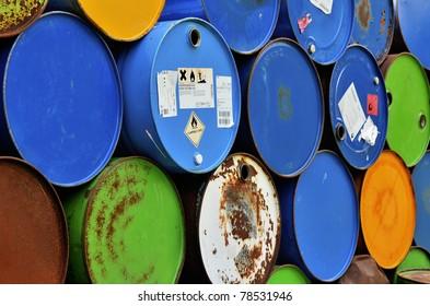Colorfull Barrels