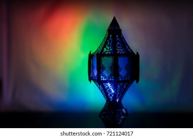 colorfull composition lantern