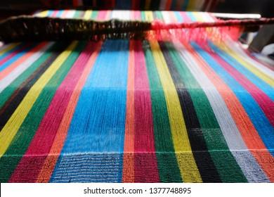 The Colorfull Of Weaving, Sasak Sade Village, Lombok