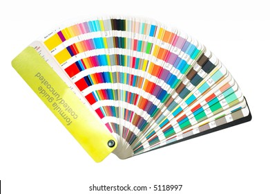 A colorguide fan
