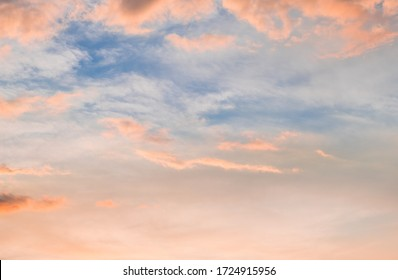 Colors of the beautiful sunset