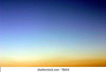 colors of evening sky