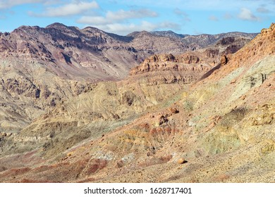 Colors Inside A Rugged Canyon