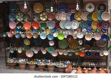 Colors in the oriental markets