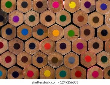 colors pencils colorful