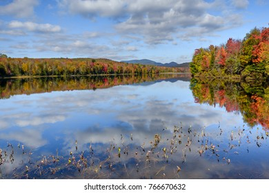 Colors and reflections in Maine