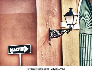 Colors of San Juan, capital of Puerto Rico - Caribbean.