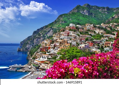 colors of sunny Italy series -Positano