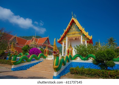 Colors of temples in Thailand.
