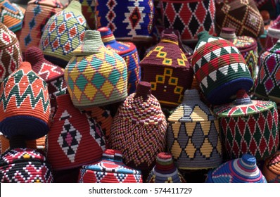 The colors that we can meet in the eastern city markets