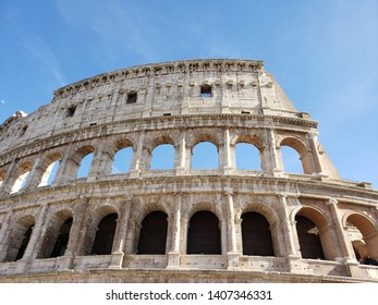 Coloseum in its half glory