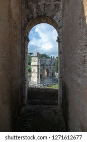Coloseum In Italy