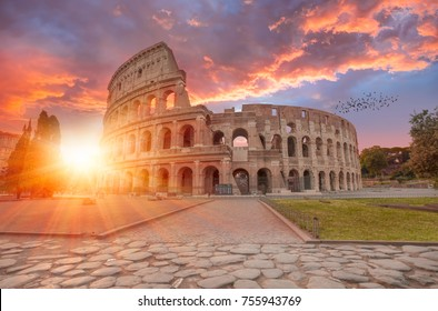 Colosseum amphitheater in Rome