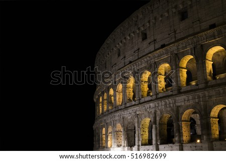 Colosseum Coliseo Romano Stock Photo Edit Now 516982699 Shutterstock