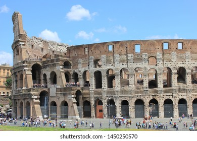 Colosseum or Coloseum in 2011, Rome Italy
