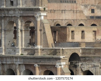 Colosseum (Colosseo) aka Coliseum in Rome, Italy