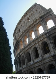 Colosseum (Colosseo) aka Coliseum in Rome, Italy