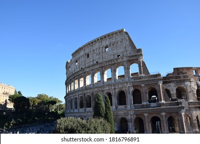 The colosseum, the Flavian theater, Rom Italy