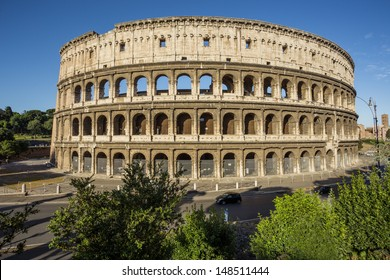 Colosseum in Rome, Italy