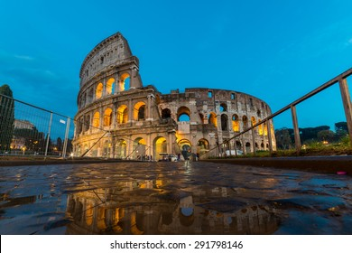 Colosseum, Rome at night