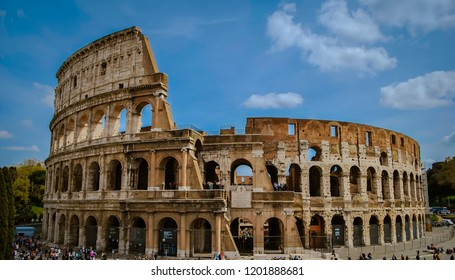 Colosseum view in Rome, Italy
