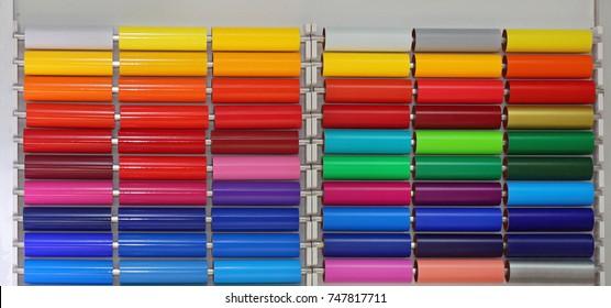 Colour Vinyl Pvc Plastic Foils