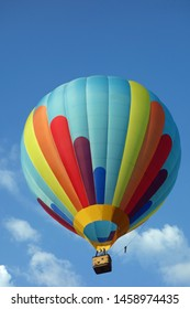 coloured balloon in the blue sky