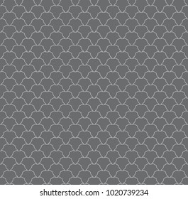 Coloured Hexagonal Scale Star Cube Pattern Seamless Repeat Background
