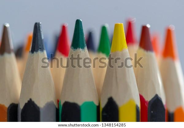 Coloured Pencils Best Colored Pencil Sets Stock Photo (Edit Now ...