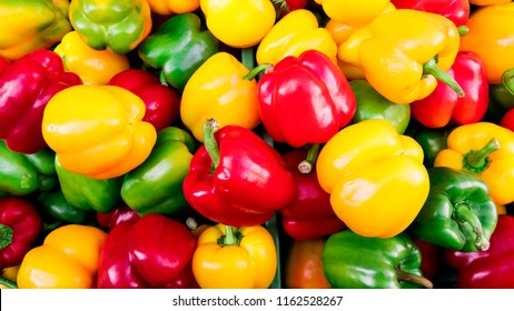 colourful bell peper