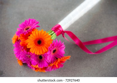 colourful bridal flowers