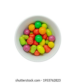 Colourful Candy in a Bowl