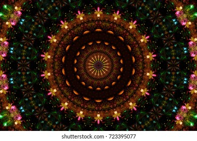 Colourful Circle Pattern