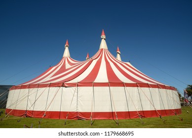 Colourful circus tent against a blue sky & circus tent Images Stock Photos u0026 Vectors | Shutterstock
