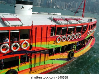 Colourful Ferry