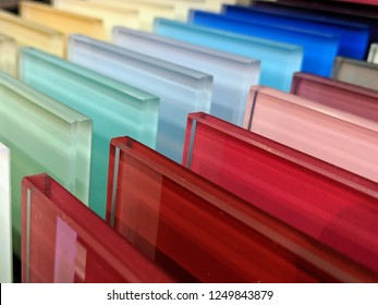 Colourful Glass Samples - Kitchen Splashback samples