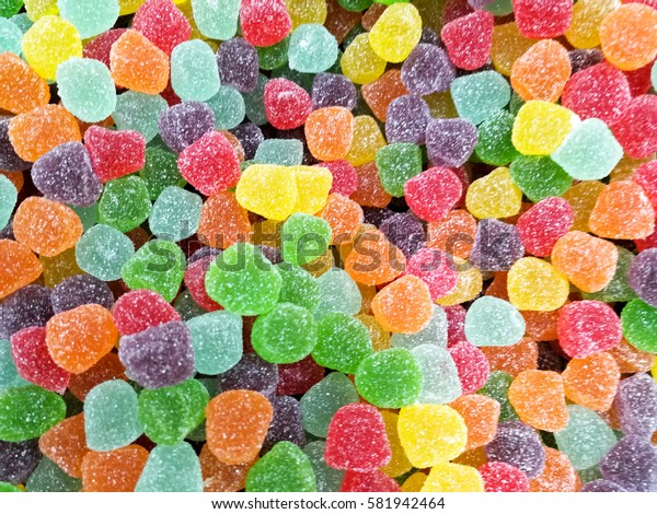 colourful gummy candy