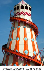 Colourful helter skelter pattern