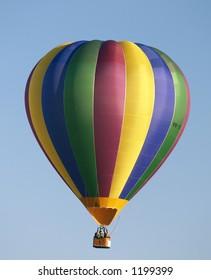 colourful hot air balloon