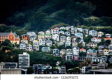 Colourful Houses Wellington