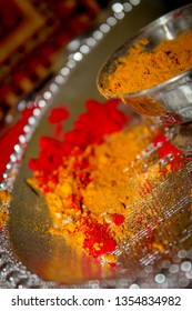 Colourful Indian tradtional Lac - indian wedding sindoor ceremony
