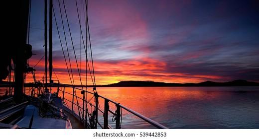 Sunrise Panorama Images, Stock Photos & Vectors | Shutterstock