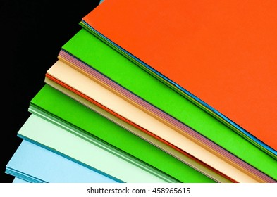 Colourful paper.