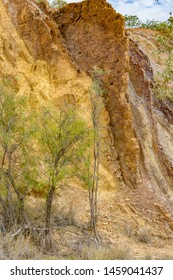 Colourful rock formations at  West MacDonnell National Park, Northern Territory, Australia