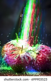 Colourful Strawberry Sugar Explosion