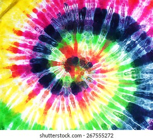 colourful tie dye background.