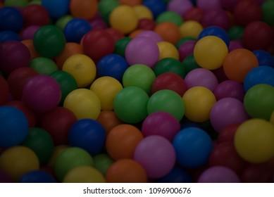 colourfull of ball