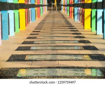 colourfull the bridge