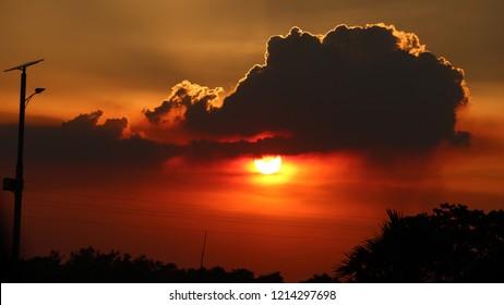 Colourfull Evening Sky