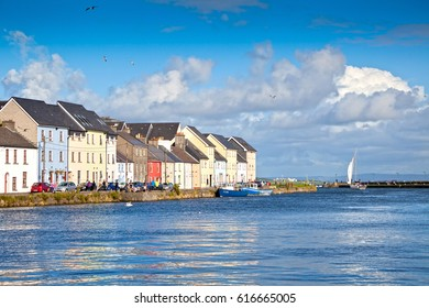 Colourfull Houses In Galway City
